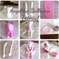 Angelina Ballerina Picture Tutorial