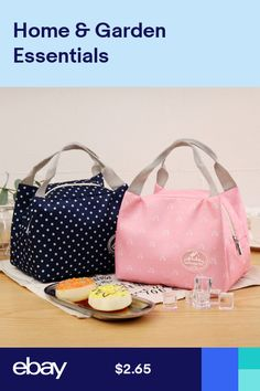 301e8b3a55e2 4 Colors Available New Sweety Cute Insulated Lunch Bag Cooler Travel ...