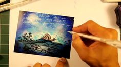 Stampscapes 101: Video 91. Night Traveler.