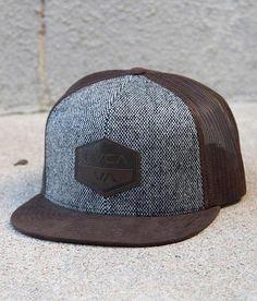 dd6cdb61806 RVCA Laurel Trucker Hat - Men s Hats in Brown