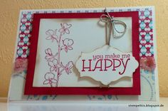 Stempelitis, Karte, Stampin up, Happy Watercolor