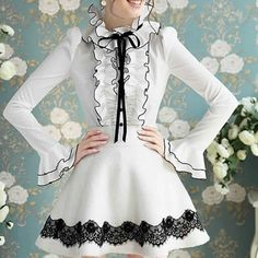 Kawaii Outfit, Kawaii Clothes, Cute Outfits, Victorian, Tops, Dresses, Fashion, Pretty Outfits, Vestidos