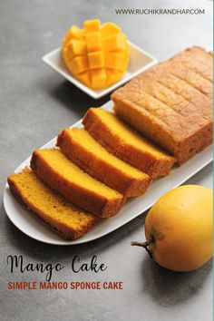 A classic mango cake with the goodness of butter & eggs makes for a perfect tea time accompaniment! Summer Recipes, New Recipes, Cake Recipes, Dessert Recipes, Egg Replacement, Mango Cake, Mango Puree, Indian Food Recipes, Ethnic Recipes