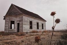 Abandoned church. New Mexico.