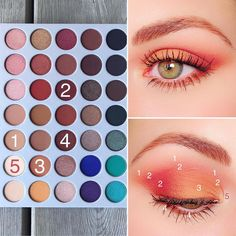 Best Eyeshadow Palette High Street much Eyeshadow Palette Cool Tones other Images Of Eye Makeup For Green Eyes enough Eye Makeup For Blue Eyes Jaclyn Hill Eyeshadow Palette, Morphe Palette, Jaclyn Hill Palette, Makeup Palette, Makeup Eye Looks, Eye Makeup Steps, Pretty Makeup, Makeup Morphe, Skin Makeup