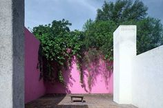 The Home of Luis Barragan, Architectural Minimalist, Color Maximalist