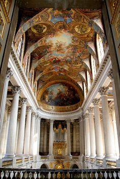 Chateau De Versailles Royal Chapel. by Liam Cheasty, via Flickr