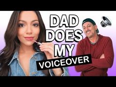 My Dad Does My Voice Over | My Makeup Routine - YouTube