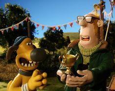Bitzer and the Farmer! International Dog Day, Shaun The Sheep, Dog Days, Farmer, Mickey Mouse, Disney Characters, Fictional Characters, Faith, Happy
