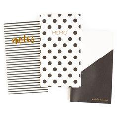 Black & White Mini Notebooks