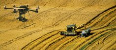 drone use in agriculture -