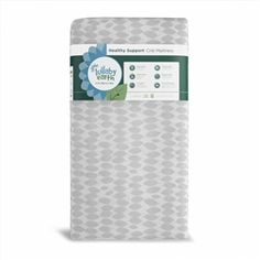 Lullaby Earth Super Lightweight Crib Mattress - Leaf Pattern (LE15 / 2-Stage). Waterproof & Easy-to-Clean. 2 Stage dual firmness. No harmful chemical. #LullabyEarth #CribMattress #Crib