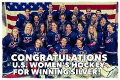 TEAM CANADA WINS GOLD!! Congrats to the US, great game! :: Photos