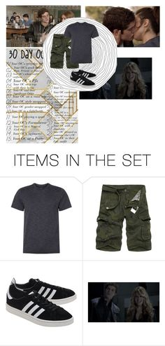 """""""30 days Oc chalenge// Day 6// Issac White//Issac Ward//Issac Cart"""" by patiblb ❤ liked on Polyvore featuring art"""