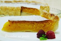 Tarte de feijão Coco, Cake Piping, Sweet Pie, Hot Dog Buns, Cornbread, French Toast, Recipies, Cheesecake, Sweets