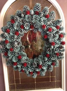 Pine+Cone+Wreath from Diana Dailey
