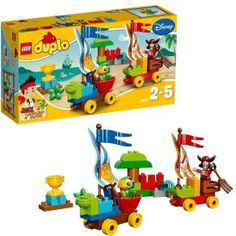 Lego Duplo 10539 Jake Et Les Pirates Du Pays Imaginaire : La Course De Caisses De Savon à 19,00 € chez 3Suisses #lego #duplo #jouet