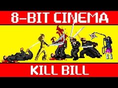 Kill Bill's fight scenes recreated as a Castlevania-type 8-bit video game.