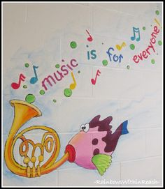 Painted Murals in Schools and Libraries