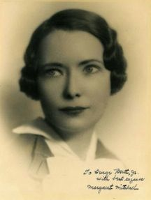Margaret Mitchell (1900-1949) is best known as the author of Gone With The Wind, one of the best known (and best selling) novels in American literature.