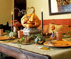 My dinning room table setup for the BH Tricks and Treats shoot  Created by Scott Smith of Rucus Studio © 2012