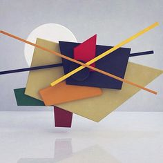"""""""Malevich suprematism 2"""". G.Rossi (2017) #guillermorossi #3d #3ds #3dartist #c4d #c4dart #c4dartist #cinema4d #vrayworld #vray #vrayrender #hdri #infographic #ilumination #geometry #geometric #abstract #abstractart #artystuff #everyday #dayly #bilbaoabstracto #abstracto #color #colors #allcolorsarebeautiful"""