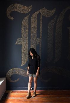Growing from chalkboard artist to designing a line at Target? Dana Tanamachi Williams is truly inspiring! Switzerland Cities, Environmental Graphics, Environmental Portraits, Typography Design, Decoration, Picture Frames, Interior Decorating, Design Inspiration, Wall Lettering
