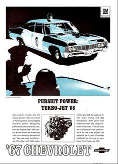 Chevorlet Biscayne Police Car - 1967