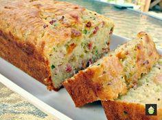 Bacon & Cheddar Zucchini Bread - Lovefoodies