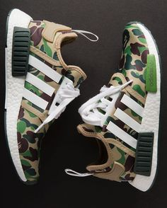 Bape NMD's // Adidas