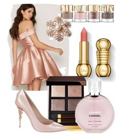 """Untitled #7"" by cristina-vasile90 on Polyvore featuring beauty, Smith & Cult, Tom Ford, Chanel and Ralph & Russo"