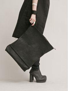 WOMEN DESIGNER :: DETAJ :: 14SS :: DETAJ Leather Clutch Bag