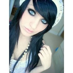 Most Beautiful Emo Girls Pics ❤ liked on Polyvore