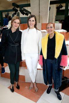 Gaia Repossi, Samantha Traina and Danielle Steel Celine, Gaia Repossi, Danielle Steel, Paris Party, Party Pictures, Autumn Fashion, Fashion 2015, Front Row, Celebrity Style
