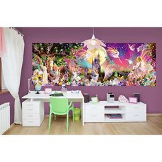 00311 Fairyland – Wall Mural 366 x 127 cm