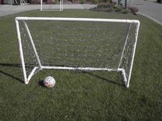 6' x 4' hockey or soccer practice net - tutorial