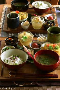 I miss Japanese breakfast. Perfect balance, with a little bit of everything!