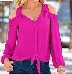 Señora blusa manga larga túnica Print corazón 40 42 44 nuevo Italy Mode