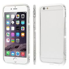Silver Frame Bumper Case for iPhone 6/6 Plus