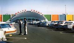 White Front, Anaheim 1961 - our family shopped at the one in Canoga Park.