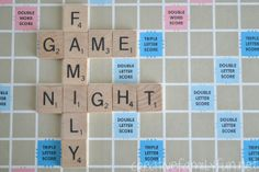 Making Connections: Family Game Night ~ Tips and ideas for a successful family game night. Creative Family Fun