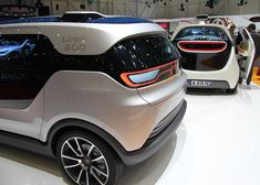 AKKA link&go 2.0 electric driverless concept car for the city of the future #genevamotorshow2014 #SIAG