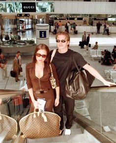 Victoria And David, David And Victoria Beckham, David Beckham, Vintage T-shirts, Mode Vintage, Vintage Vibes, Vintage Fashion, 2000s Fashion, Fashion Outfits