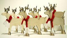 Christmas Reindeer by Rachel McKnight at Space CRAFT www.craftanddesigncollective.com