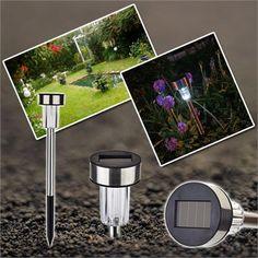 Kablosuz Solar Bahçe Lambası