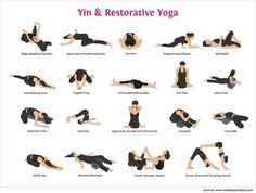 Different types of yoga yin-yoga