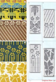 Pattern Library for Punch Card Knitters No 2: Фото альбомы - Страна Мам