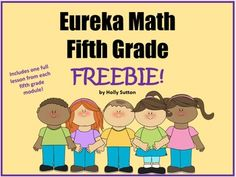 Want a sneak peek into my Eureka Math PPT lessons for fifth grade?  Included in this freebie is a lesson from each of the six fifth grade modules.  All lessons include I Can Statements, Application Problems, Concept Development, and Problem Sets.Thank you for your interest in my products!