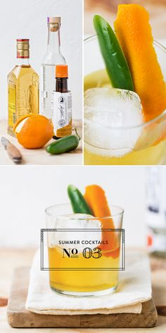 Cool off with Mezcal Old Fashion from @Luvoinc