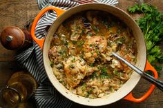 NYT Cooking: Coq au Riesling